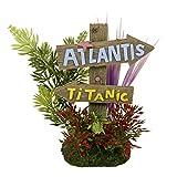 Blue Ribbons 006085Exotique environnements Atlantis et Grande Plaque, Titanic