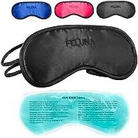Feluna Premium Schlafmaske ★mit Kühlkissen★ auch als Augenmaske zu verwenden; Schlafbrille mit verstellbarem Gummiband... preisvergleich bei billige-tabletten.eu