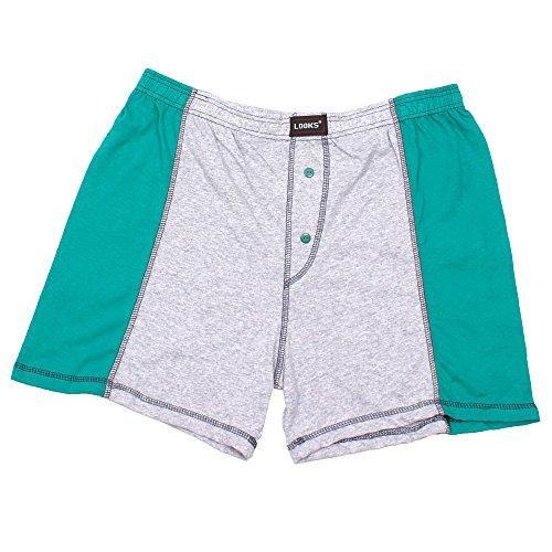 3er Pack Herren Boxershorts in Übergröße Nr. 395 - Farben und Muster können variieren (10, Mehrfarbig) - 5