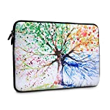 11-13.3 Inch Laptop Sleeve Season Tree Style, iCasso Neoprene Elegent Protective Notebook Bag Briefcase Cover Carrying Case for MacBook Air, MacBook Pro, Tablet PC, Ultrabook, Netbook