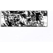 suchergebnis auf f r moderne kunst abstrakte bilder schwarz weiss bild deinebilder24. Black Bedroom Furniture Sets. Home Design Ideas
