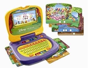 Vtech - Ordinateur pour enfant- Winnie l'Ourson - L'Ordi Copain Malin