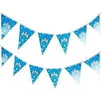 Anladia 3 M Banderolas banderín Fiesta de cumpleaños Habitaciones Decoración ...