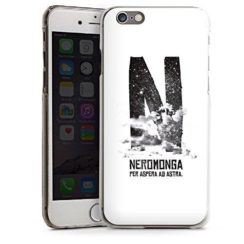 Apple iPhone 5s Housse Étui Protection Coque Nuages Noir Blanc CasDur transparent