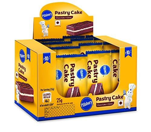 Pillsbury Pastry Cake, Chocolates, 25g (Pack of 12) 51QjFUarBML