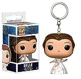 Disney - Vinyl Schlüsselanhänger - Die Schöne Und Das Biest - Celebration Belle