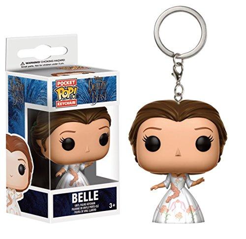 Belle Rose Geldbörse (Disney - Vinyl Schlüsselanhänger - Die Schöne Und Das Biest - Celebration Belle)