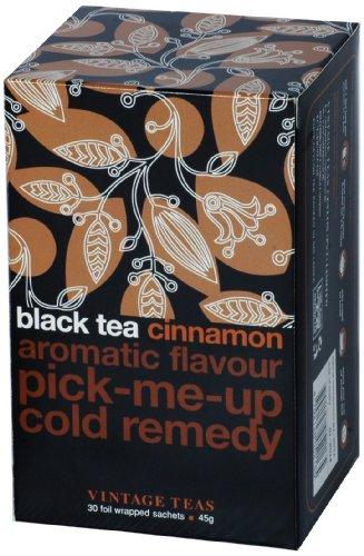 Vintage Teas Schwarzer Tee mit Zimt, 30 TB, 6er Pack (6 x 45 g) (Tee 2006)
