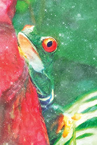 Notes: Red Eyed Tree Frog - Blank College-Ruled Lined Notebook (Student Animal Journals for Writing Journaling & Note-taking, Band 321) -