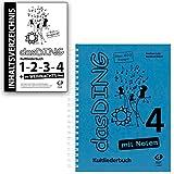 Das DING Band 4 mit Noten + Original Inhaltsverzeichnis - Bände:1-2 - 3-4 - Das Weihnachts-Ding - Verlag Edition Dux D9999 9783868492477