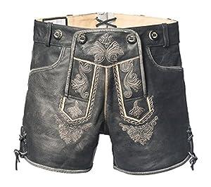 Tannhauser, Pantalones Cortos para Mujer, Negro, 40 (Claire)