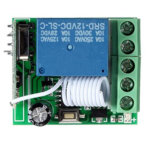 Jane Ge 2019 Store DC12V 10A 1CH 433MHz Funkrelais RF Fernbedienung Schalter Empfänger LDTR-WG0228 -