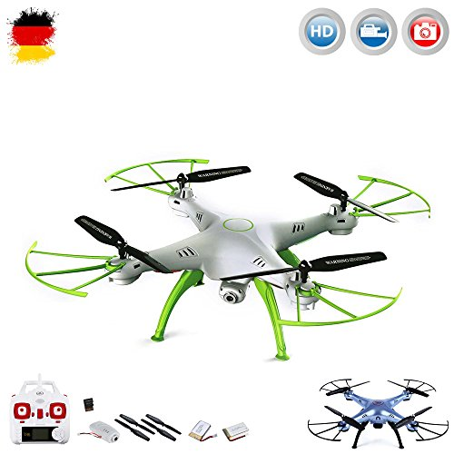 X5SC-1 Explorers 2 Pro HD-Quadrocopter,4.5-Kanal Drohne,2.4GHz,Headless,HD Kamera,2xAkku,Crash-Kit