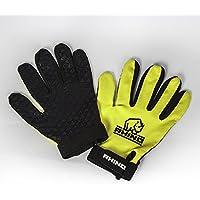 Rhino Pro Vollfinger-Handschuh - Fluoreszierend Gelb