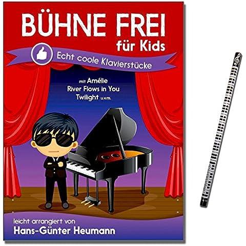 Scena di per bambini - 30 viennagold coole Pianoforte inghiottiva facilmente arrangiate di Hans-Lingua - con piano-matita