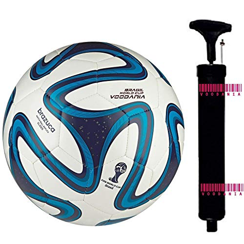 voodania Manchester United MUFC Official Football Size 5, Diameter: 26 cm  Pack of 1, Multicolor