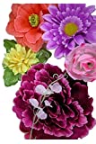 KARNEVALS-GIGANT Blumensortiment 10 Blumen