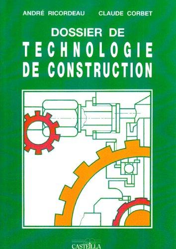 Dossier de technologie de construction