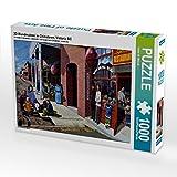 3D Wandmalerei in Chinatown, Victoria BC 1000 Teile Puzzle quer (CALVENDO Orte)