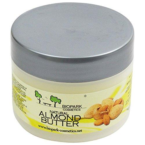 BIOPARK - Beurre d'Amande - Soin protecteur pour une peau ultra-douce - Parfait pour la peau gercée et rugueuse - 100 gr