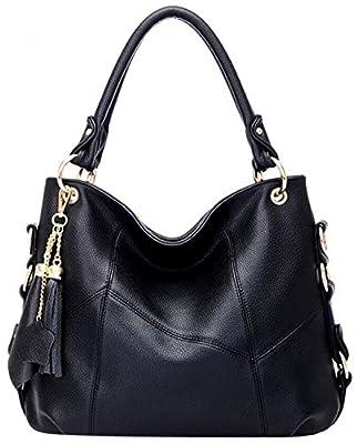 Coofit Femme Sac à main Sac à bandoulière mode sac millésime sac à bandoulière Portefeuille pour les Femmes