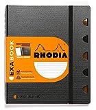 Rhodia Exabook 132576C Cahier Organisation Spirale A5+ 160 Pages Ligné avec Marge et Cadre en-Tête