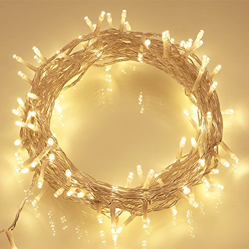10M LED WARM WHITE BATTERY OPERATED LED FAIRY STRING LIGHTS IDEAL FOR CHRISTMAS TREE LIGHTS ...