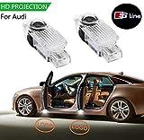 Die zweite Generation Upgrade Autotür willkommen Licht HD-Logo Symbol Projektor 2 Packungen-06 poppy