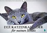 Der Katzenkalender für meinen Schatz (Wandkalender 2018 DIN A4 quer): Besinnliche und heitere Lebensweisheiten für Katzenliebhaber (Monatskalender, 14 ... [Kalender] [Apr 01, 2017] CALVENDO, k.A.