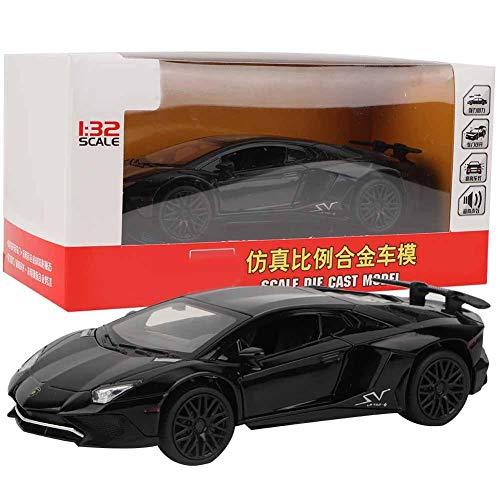Furnoor 1:32 Diecast Model Car Sound Light Zurückziehen Legierung Spielzeug Kinder Geburtstagsgeschenk Diecast Model -