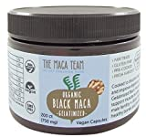 Gelatinized Black Maca Root Capsules - Certified Organic, Fresh Harvest From Peru, Fair Trade, Gmo-Free, Gluten Free And Vegan 750 Mg, 200 Ct from The Maca Team, LLC