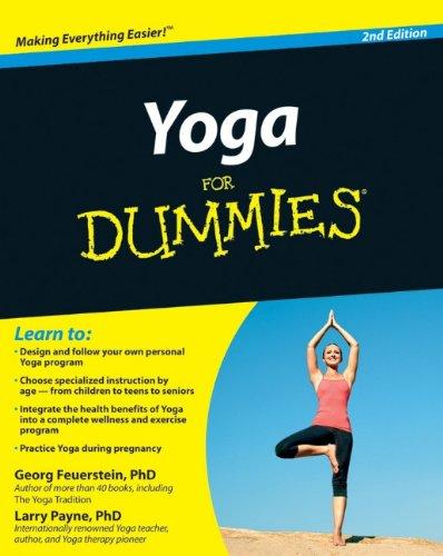 Pdf Download Yoga For Dummies Best Seller By Georg Feuerstein Phd Ghj7k86jhrgedrth4gw54