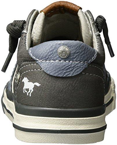 Mustang 5024-302-2, Sneakers Basses Mixte Enfant Gris (2 Grau)