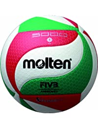 5x Molten V5M5000Ballon de volley-ball Ballon FIVB flistatec Technologie + RS-Sports Stylo bille