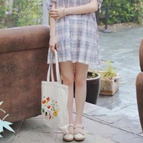 Weihnachten Style Baumwolle Henkeltasche Schultertasche Jutebeutel, kleine Waren kleine Waren