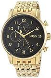 Hugo Boss Herren Armbanduhr in Gold und Edelstahl