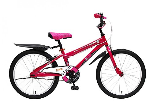 Kinderfahrrad 20 Zoll Kinder Fahrrad Spielrad Rad Mädchen Pink Rosa STEM BIKE