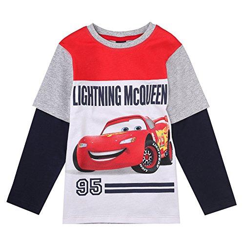 Camiseta Cars niño de manga larga
