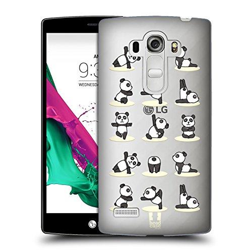 Head Case Designs Panda Yoga Tiere 2 Ruckseite Hülle für LG G4 Beat / G4s / G4 s / H735
