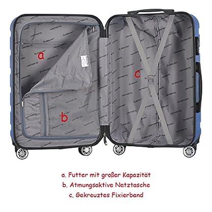 COSTWAY-Koffer-Set-Trolley-Set-Reisekofferset-Hartschalenkoffer-Koffer-Gepckset-mit-Zahlenschloss-Hartschale-Farbwahl