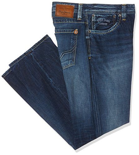 Pepe Jeans Kingston Zip, Vaqueros Para Hombre, Azul (Denim W53), W50/L33