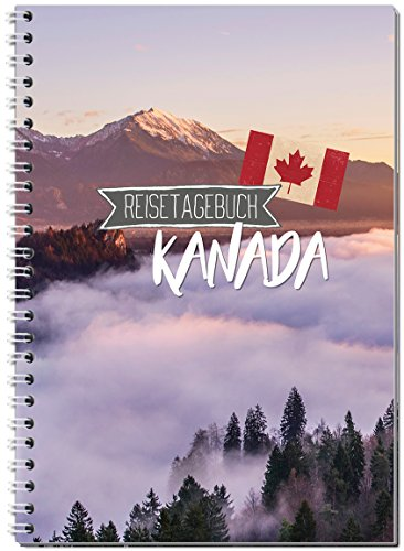 Reisetagebuch Kanada zum Selberschreiben / Notizbuch A5 Ringbuch mit 120 Seiten / Packliste, Reiseplan, Zitate, Fun Facts, spannende Reise-Challenges... - Von Sophies Kartenwelt