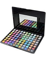 PhantomSky 88 Colores Sombra De Ojos Paleta de Maquillaje Cosmética #8 - Perfecto para Uso Profesional y Diario