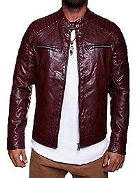 MT Styles style Biker PU veste en cuir M-1004