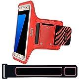 Brazalete Samsung Galaxy S7 S6 S5, EOTW brazalete deportivo antideslizante con Alta calidad ,para el brazo 9.5 a 24,5 pulgadas, Perfecto para correr running hacer deporte .
