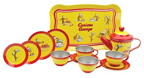 Curious George Tin Tea Set