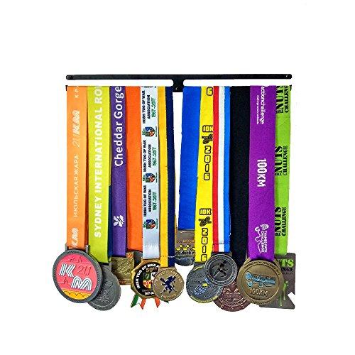 JIN Sportmarathon-Trophäenmedaillen, die Kindermedaillen-Athletengeschenke hängen, die Vatertags-Geburtstags-Jahrestags-Marathon-Halbweg-Geschenke des Vatertags-Valentinstag-Vatertags Läufer-Frauen I - Race-medaille Aufhänger