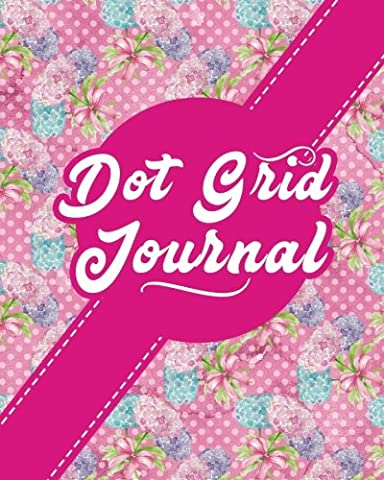 Dot Grid Journal: Bullet Grid Journal For Busy Moms, Dotted Composition Notebook - Hydrangea Flower Cover