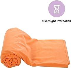 Mee Mee Breathable & Total Dry Sheet Protector Mat (Orange)