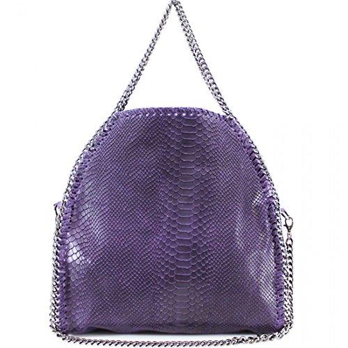 Craze London, Borsa tote donna Purple